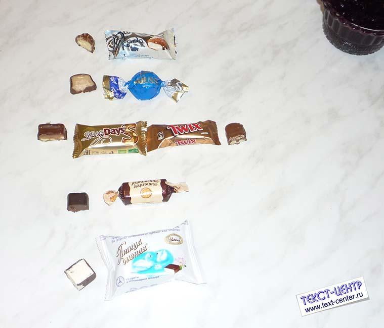 Рейтинг самых вкусных конфет (с опытными образцами)